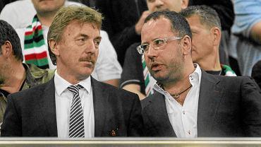 Zbigniew Boniek i Bogusław Lesnodorski