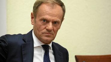 Donald Tusk przewodniczący Europejskiej Partii Ludowej.