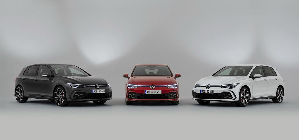 Volkswagen Golf GTI, GTE i GTD 2020