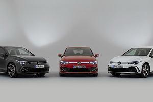 Volkswagen Golf GTI, GTE i GTD - nowy Golf w trzech sportowych odsłonach