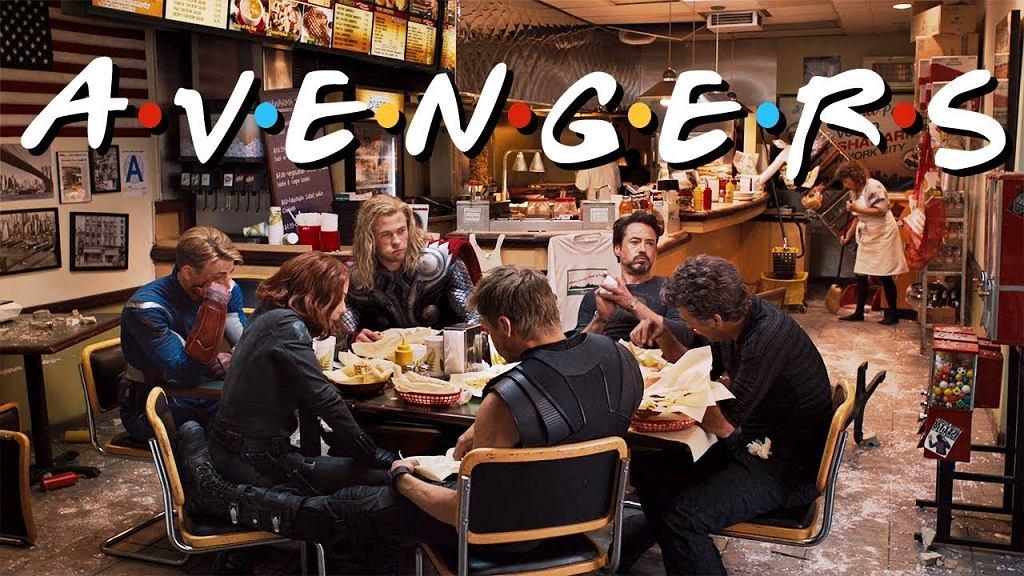 Avengers vs Friends Style