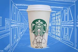 Co można zrobić z kubkami ze Starbucksa? Świetne rysunki [ZDJĘCIA]
