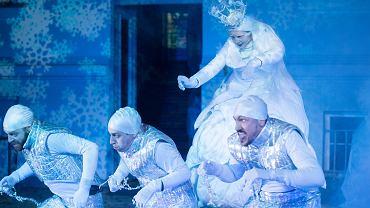 Wrocławski Teatr Pantomimy. Próba prasowa spektaklu 'Królowa. Baśń podwórkowa'.
