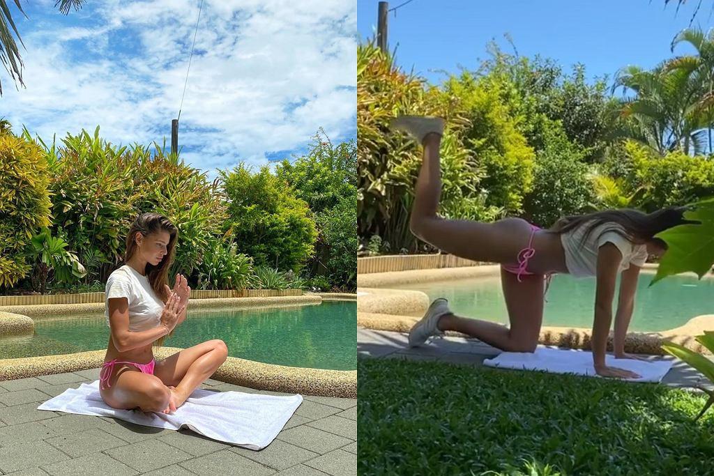 Anna Markowska - trening