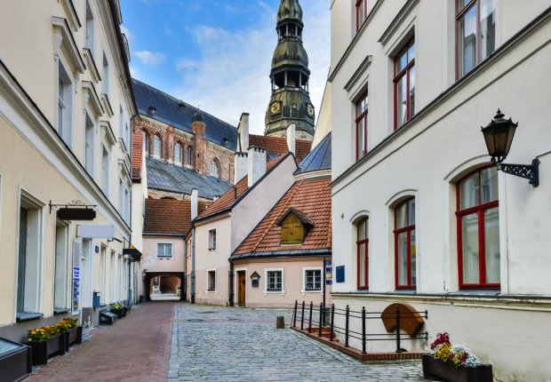 Ryga: piękne stare miasto