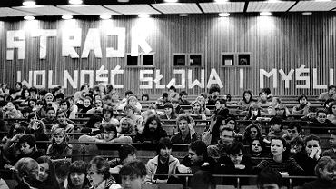 Strajk 'radomski' na UG: 1981 r.