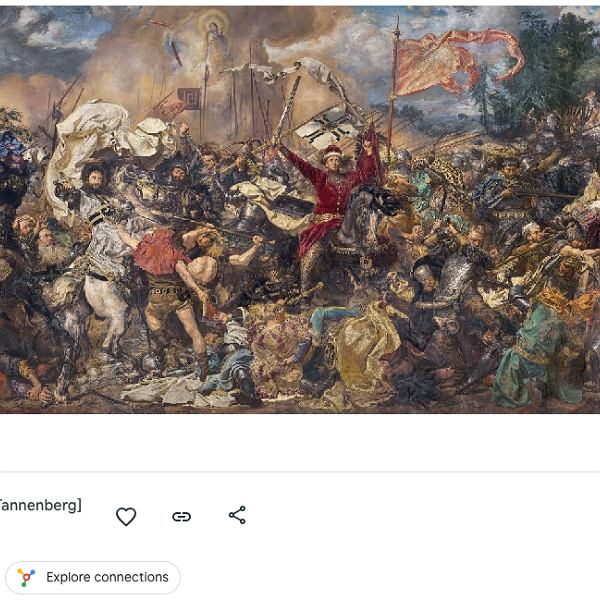 'Bitwa pod Grunwaldem' Jana Matejki