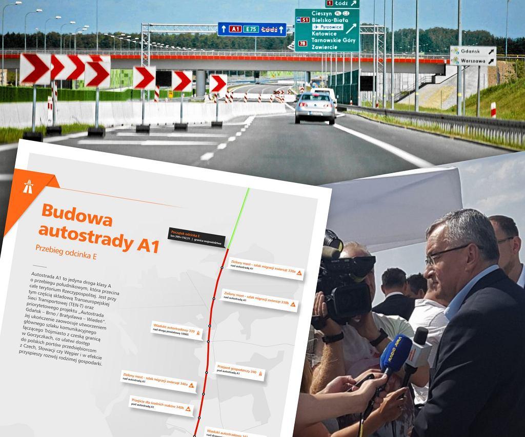 Podpisano umowę na budowę ważnego fragmentu A1