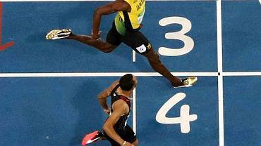 Usain Bolt i Andre de Grasse