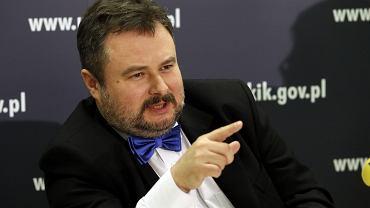 Konferencja UOKIK. Na zdjęciu Marek Niechciał, prezes Urzędu