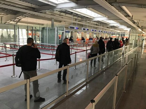 Lepsza sytuacja na lotnisku