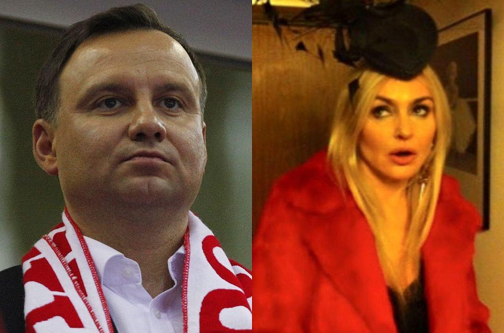 Andrzej Duda, Monika Olejnik