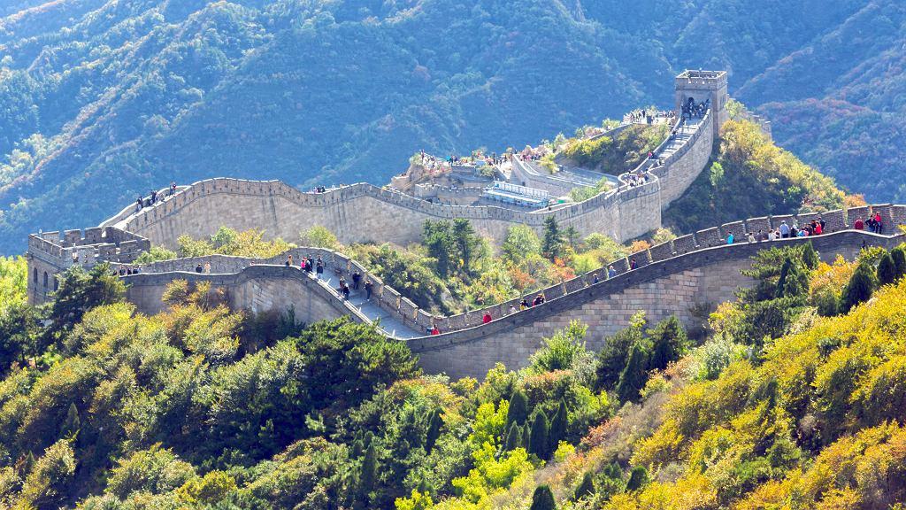 Fragment Wielkiego Muru Chińskiego znów otwarty