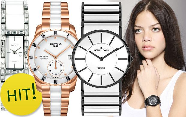 Ceramiczne zegarki
