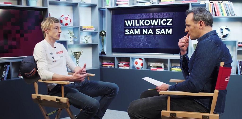 Dawid Kubacki w programie 'Wilkowicz Sam na Sam'