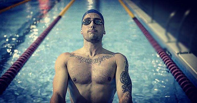 Chris Walker-Hebborn, najbardziej wytatuowany zawodnik basenu olimpijskiego Rio 2016