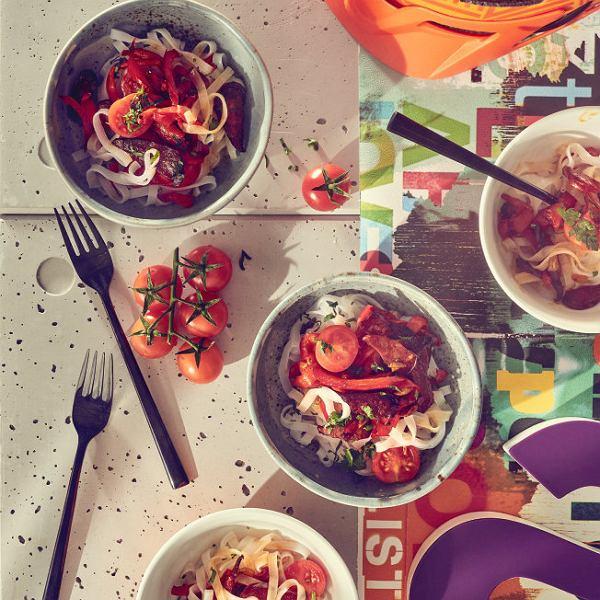 Błyskawiczne spaghetti - domowy fast food