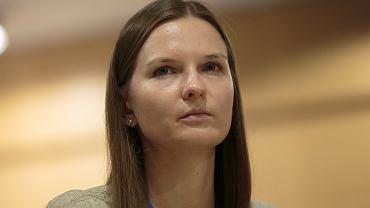 Ludmiła Kozłowska podczas konferencji Fundacji  Otwarty Dialog '