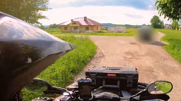 Autor kanału Quadowy Vlog zatrzymał pijanego kierowcę