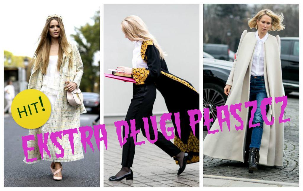 Ekstradługi płaszcz- najnowszy trend na jesień i zimę