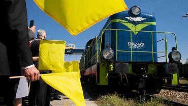Inauguracja nowego połączenia kolejowego z Łodzi do Chin
