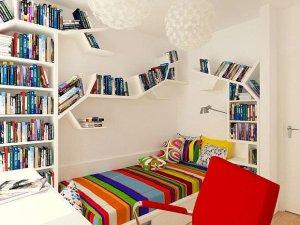 Bardzo mały pokój młodzieżowy