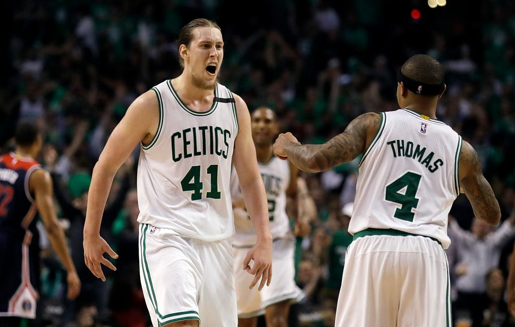 Mecz NBA pomiędzy Washington Wizards a Boston Celtics
