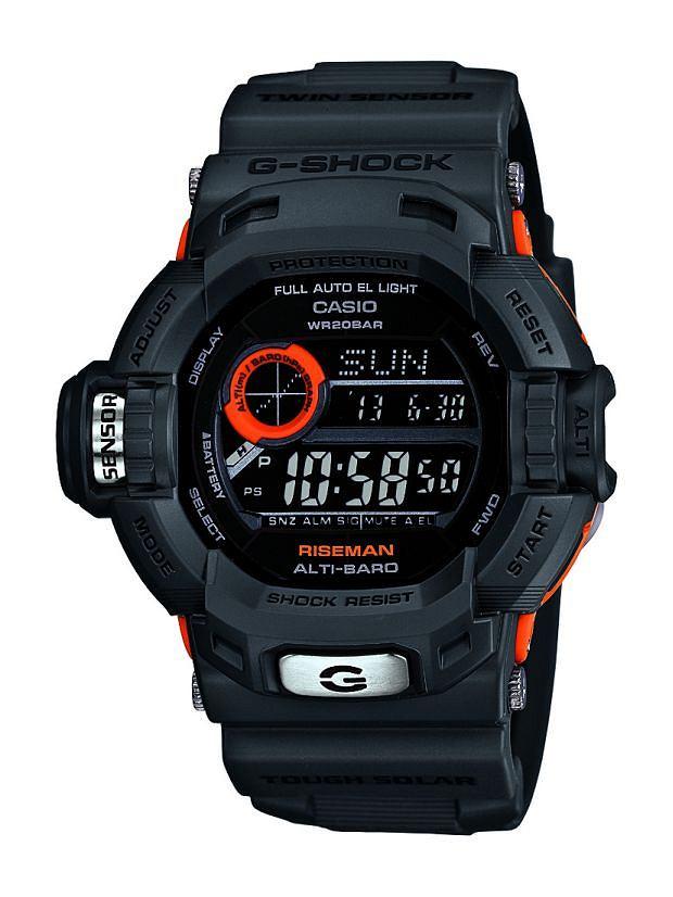 e2ba95d19556bd Casio prezentuje nowe zegarki G-Shock. Model G-9200GY-1ER Riseman