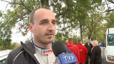 Robert Kubica w wywiadzie dla TVP