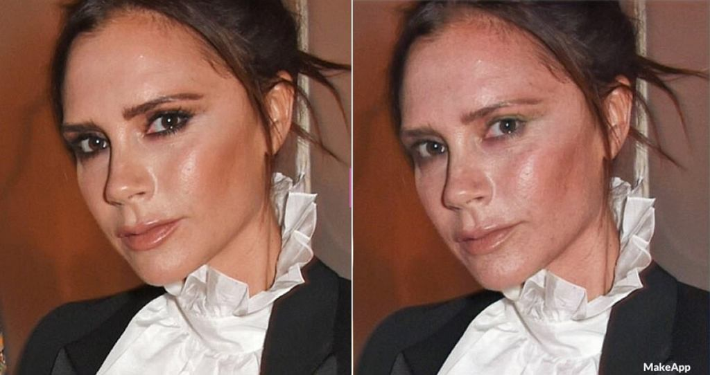 Ta aplikacja usunie makijaż z twarzy gwiazd!