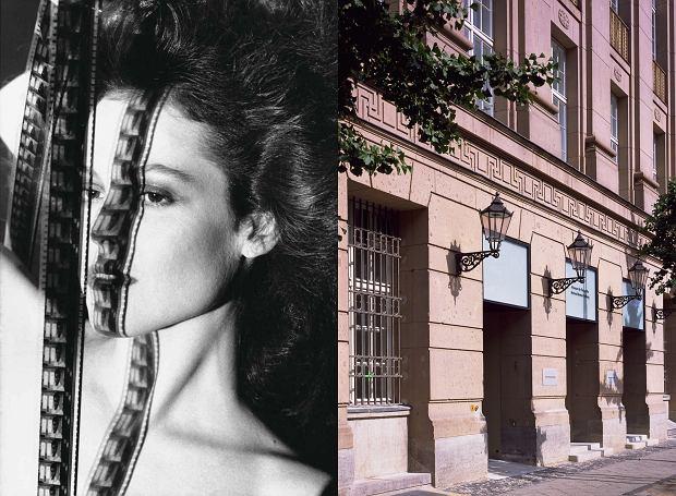 Po lewej: Sigourney Weaver, Los Angeles, 1983 rok; po prawej: wejście do fundacji Helmuta Newtona (fot. Helmut Newton Estate)
