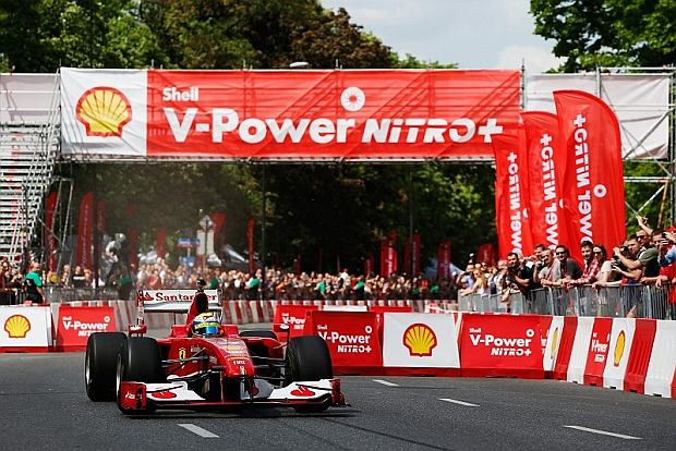 Felipe Massa w Warszawie