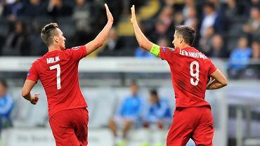 Milik i Lewandowski