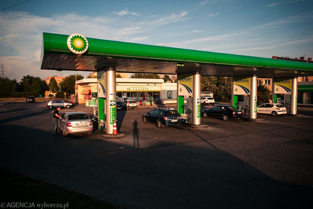 Stacja benzynowa BP