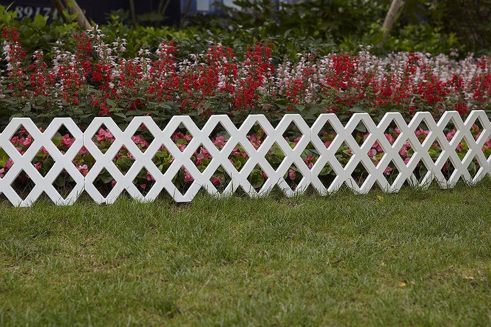 Dekoracyjne płotki ogrodowe