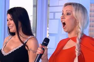 Iwona Węgrowska zaśpiewała w 'Dzień Dobry TVN'