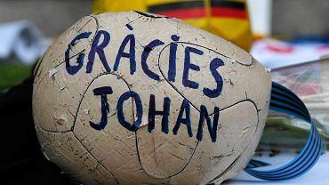 Johann Cruyff upamiętniony na Camp Nou