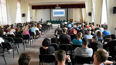 Konferencja 'Zawodowcy' zorganizowana przez 'Gazetę Wyborczą' w Zespole Szkół Teleinformatycznych i Elektronicznych
