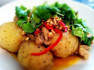 Tajskie curry z kurczakiem.