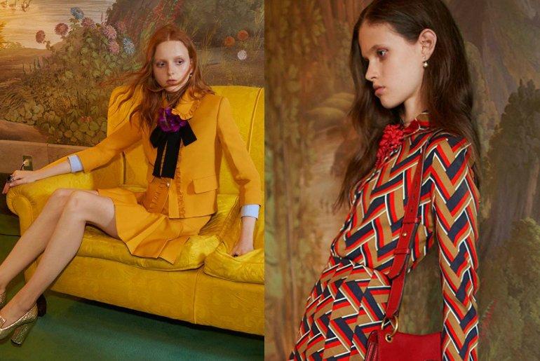 Kampania Gucci Pre-Fall 2016 - te zdjęcia były przedmiotem skargi do ASA