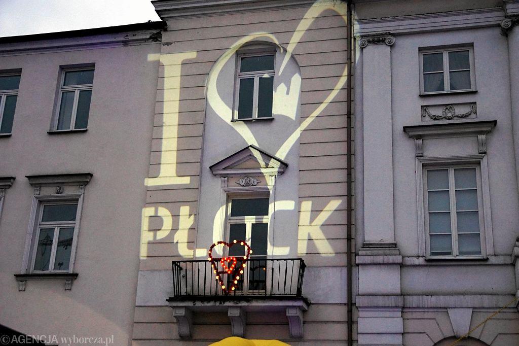 Walentynki na Starym Rynku w Płocku