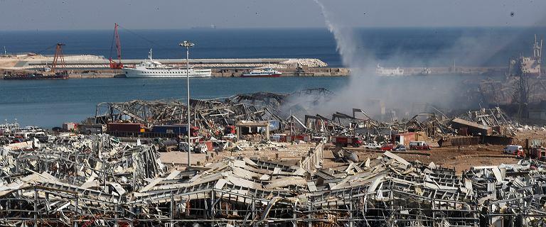 Gubernator Bejrutu: Uszkodzona ponad połowa budynków