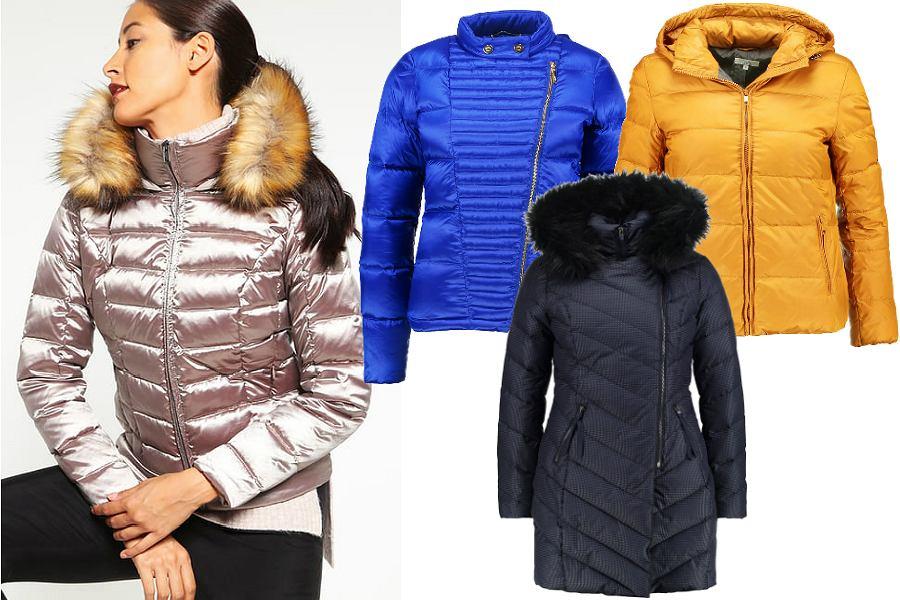 Puchowe kurtki i płaszcze