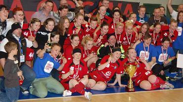 Unihokeistki Energa Olimpia Osowa Gdańsk - mistrzynie Polski 2014