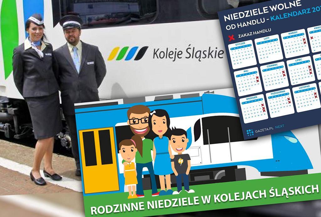 Koleje Śląskie wprowadzają specjalną ofertę w niedziele objęte zakazem handlu