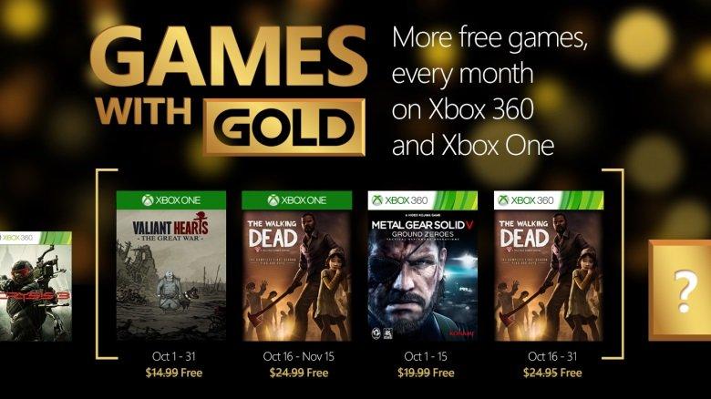 Games with Gold - październik 2015