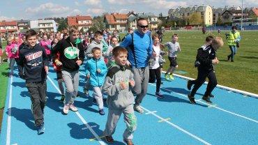 Otwarcie stadionu lekkoatletycznego w Dywitach
