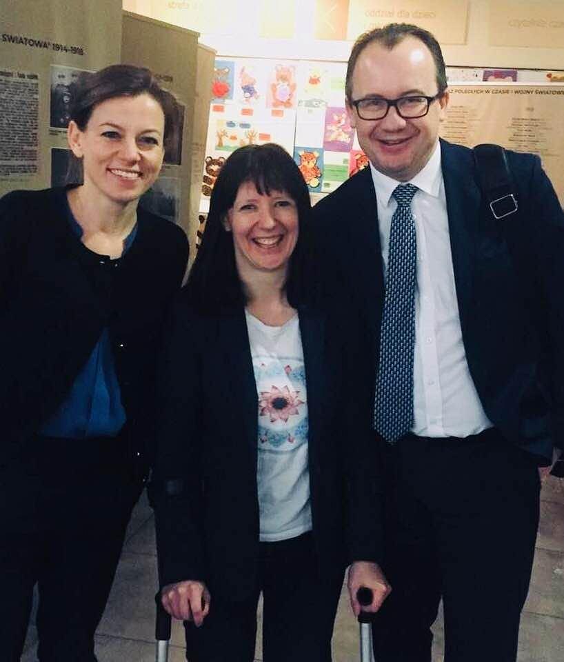 Adam Bodnar. RPO koniec kadencji rzeczniczka praw obywatelskich. Na zdjęciu Zuzanna Rudzińska- Bluszcz, Karolina Hamer i Adam Bodnar.