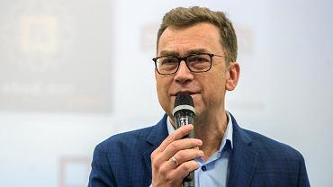 Konferencja BiznesTrendy 2018 w Bydgoszczy. Maciej Orłoś - prowadzący BiznesTrendy.