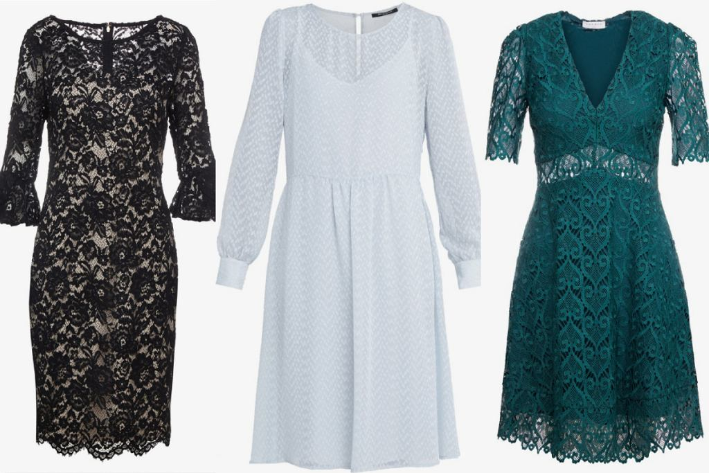 Koronkowe sukienki to weselna klasyka